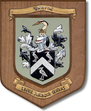 Hearn/Hearne coat of arms